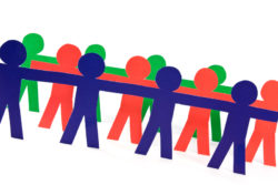 people group doing teamwork in their business